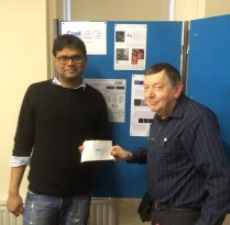 Congratulations to Kirti Prakesh – Poster Prize winner from Mainz Institute of Molecular Biology