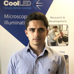 CoolLED welcomes Tom Shah for a summer internship.