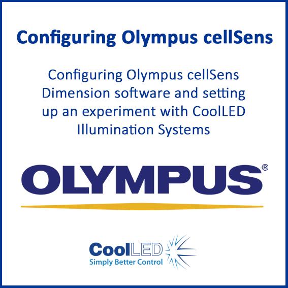 Configuring Olympus cellSens