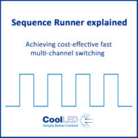 Sequence Runner for high-speed imaging