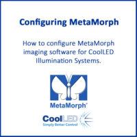 Configuring MetaMorph
