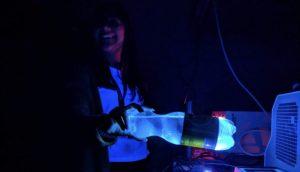 Fluorescent Tonic Water