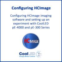 Configuring Hamamatsu HCImage