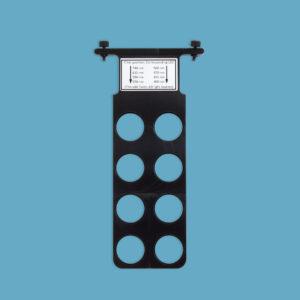 pE 800 Excitation filter holder 1