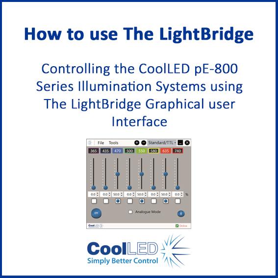How to use the lightbridge 1
