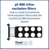 pE-800 inline excitation filters