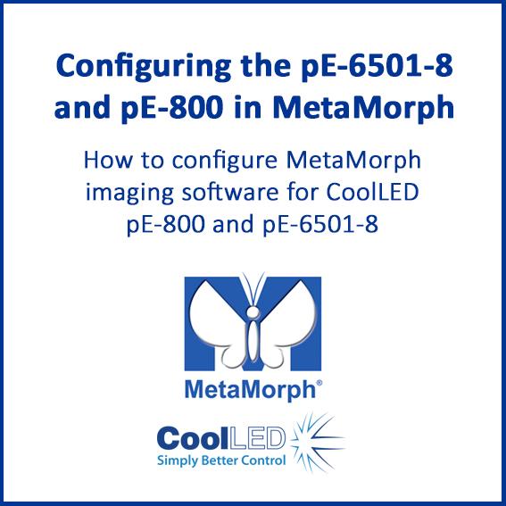 Metamorph pE 800