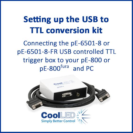 Setting up the USB to TTL conversion kit 1